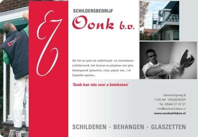 Schildersbedrijf Oonk