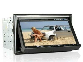 2-Din 7 Inch TFT Car DVD/Navigatie/Bluetooth