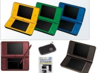 Nintendo Dsi xl alle kleuren