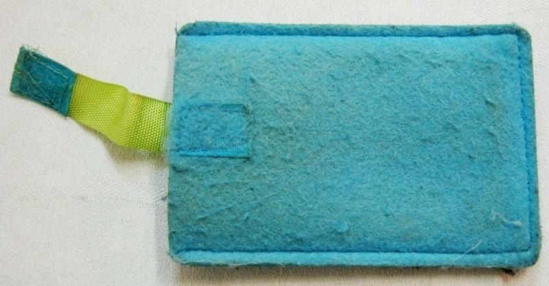 vilt hoesje voor o.a. iphone 4/5 en Galaxy S3/S4, gst, blau…