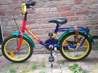 loekie 16 inch, mooie fiets!
