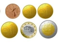 Andorra UNC 2014 -6 munten-