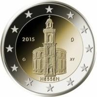 Duitsland 2 Euro 2015 Hessen Paulskerk