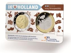 Nederland 2 Euro 2015 Holland Coinfair Coincard