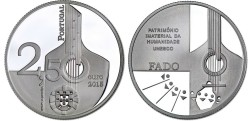 Portugal 2,5 Euro 2015 Fado