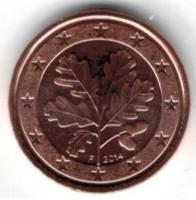Duitsland 1 Cent 2014 F