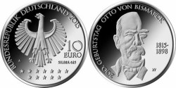 Duitsland 10 Euro 2015 Otto von Bismarck