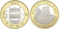 Finland 5 Euro 2015 Uusima - Egel