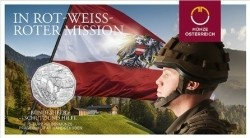 Oostenrijk 5 Euro 2015 Strijdkrachten -Zilver-