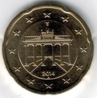 Duitsland 20 Cent 2014 A