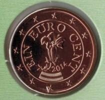 Oostenrijk 1 Cent 2014