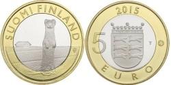 Finland 5 Euro 2015 Ostrobonië - Hermelijn