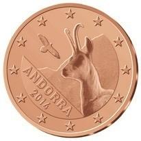 Andorra 5 Cent 2014 UNC