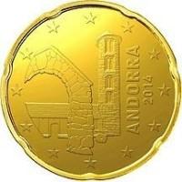Andorra 20 Cent 2014 UNC