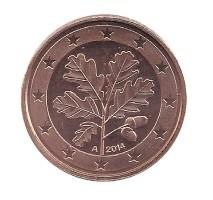 Duitsland 1 Cent 2014 A