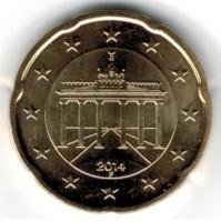 Duitsland 20 Cent 2014 F