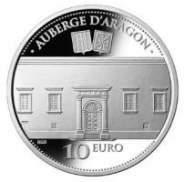 Malta 10 Euro 2014 Auberge d'Aragon