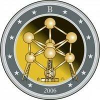 België 2 Euro 2006 Atomium Brussel