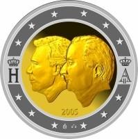 België 2 Euro 2005 50 Jaar Monetaire Unie Belgie Luxemburg