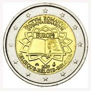 België 2 Euro 2007 50 jaar Verdrag van Rome