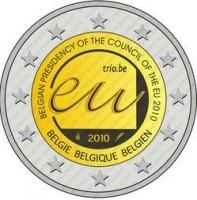 België 2 Euro 2010 Voorzitterschap EU-raad