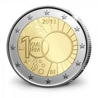 België 2 Euro 2013 Koninklijk Meteorologisch Instituut