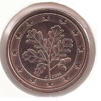 Duitsland 1 Cent 2014 J