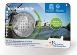 Nederland 5 Euro 2014 Molen Coincard BU