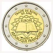 Frankrijk 2 Euro 2007 Verdrag van Rome