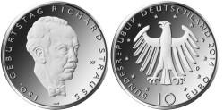 Duitsland 10 Euro 2014 Richard Strauss
