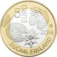 Finland 5 Euro 2014 Natuur Water Proof
