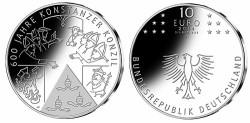 Duitsland 10 Euro 2014 Concilie van Konstanz