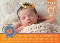 Nederland BU 2015 -Babyset- Neutraal met Gekleurde penning