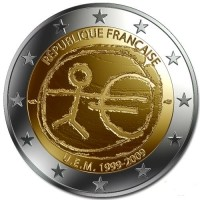 Frankrijk 2 Euro 2009 Europese Monetaire Unie