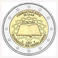 Nederland 2 Euro 2007 50 Jaar Verdrag van Rome