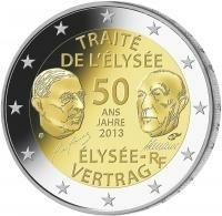 Frankrijk 2 Euro 2013 Elysée Verdrag