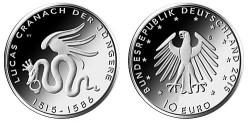 Duitsland 10 Euro 2015 Lucas Cranach