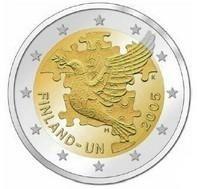 Finland 2 Euro 2005 -50 jaar UN-