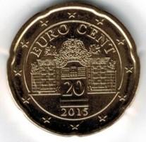 Oostenrijk 20 Cent 2015