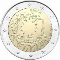 Malta 2 Euro 2015 30 Jaar Europese vlag