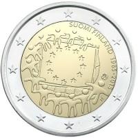 Finland 2 Euro 2015 -30 Jaar Europese Vlag-