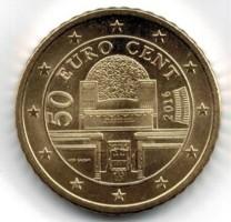 Oostenrijk 50 Cent 2016 UNC