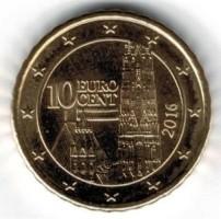 Oostenrijk 10 Cent 2016 UNC