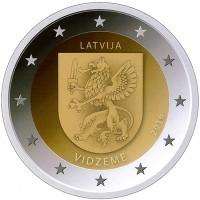 Letland 2 Euro 2016 Vidzeme