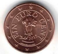Oostenrijk 1 cent 2015