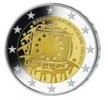 Duitsland 2 Euro 2015 30 Jaar Europese Vlag