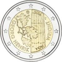 Finland 2 Euro 2016 Georg Henrik von Wright