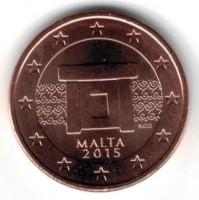 Malta 5 Cent 2015 UNC