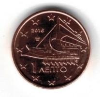 Griekenland 1 Cent 2016 UNC