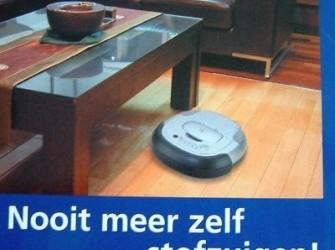 iROBOT Robotstofzuiger met afstandbediening!!En d